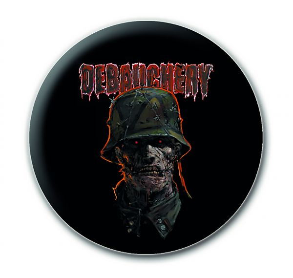 Debauchery Button Zombie