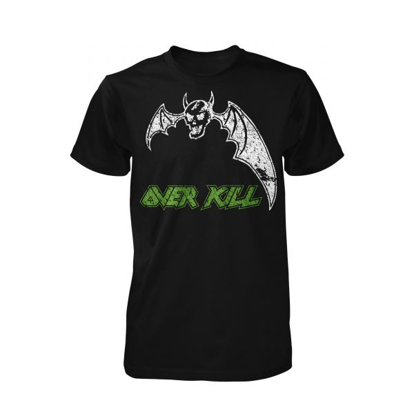 Overkill Power In Black | T-Shirt