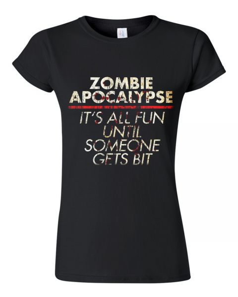 Rock Style All Fun Until Zombie Apocalypse