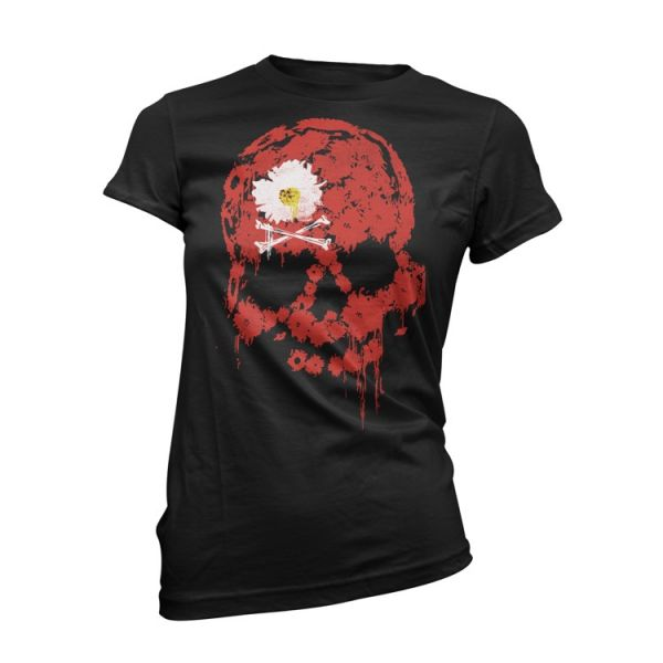 The Dead Daisies Red Skull Girl