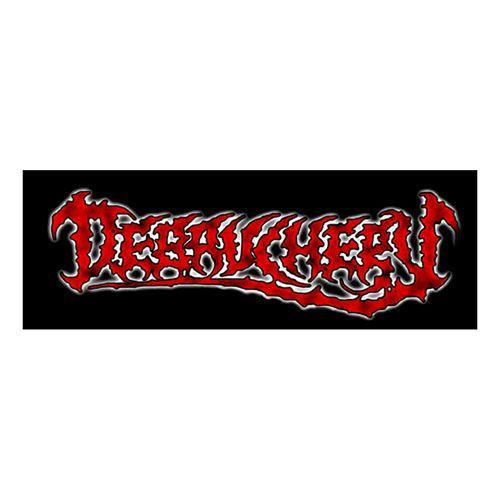 Debauchery Debauchery - Old Logo 14,5 x 5 cm Patch