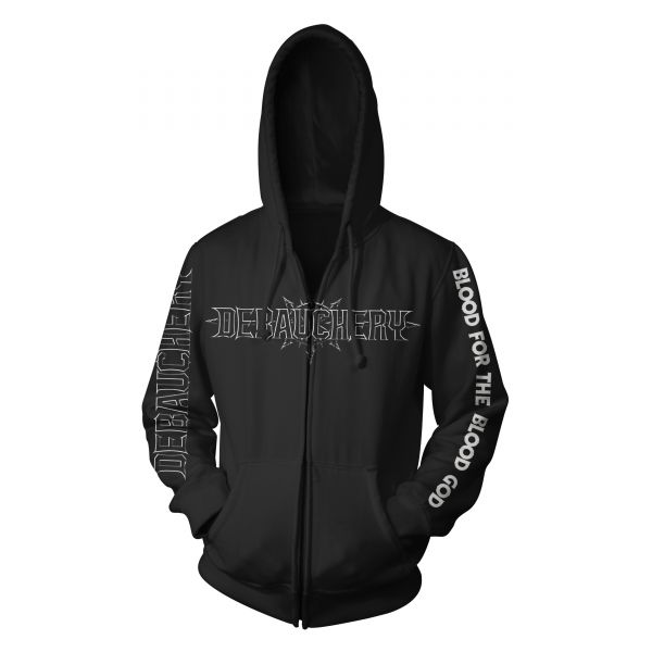 Debauchery Blood for the Blood God | Hood-Zip