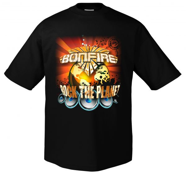 Bonfire Rock the Planet