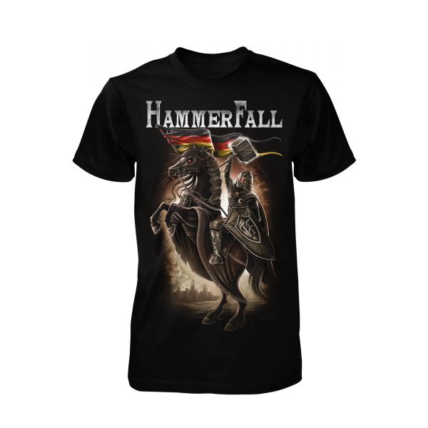 Hammerfall Hector On Horse | T-Shirt