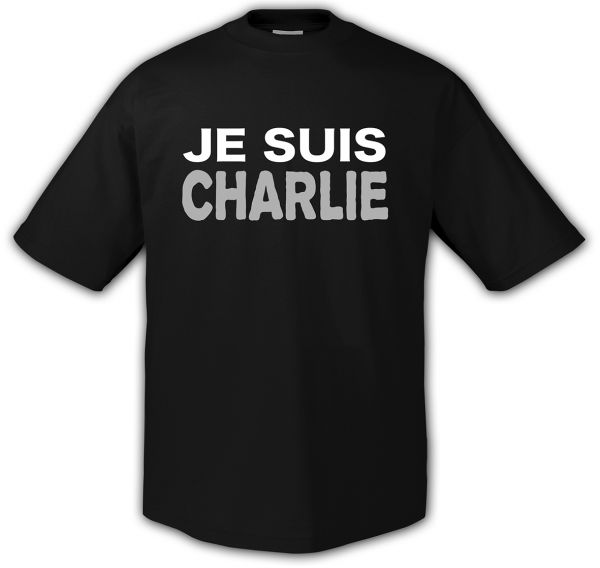 Rock Style Je Suis Charlie
