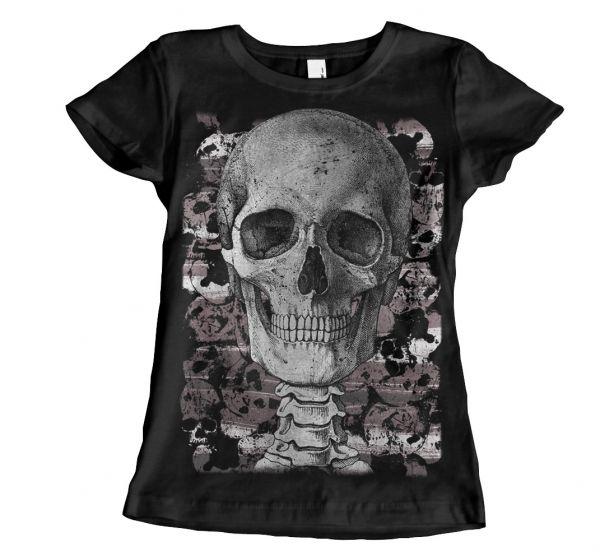 Rock & Styles Engraving Skull