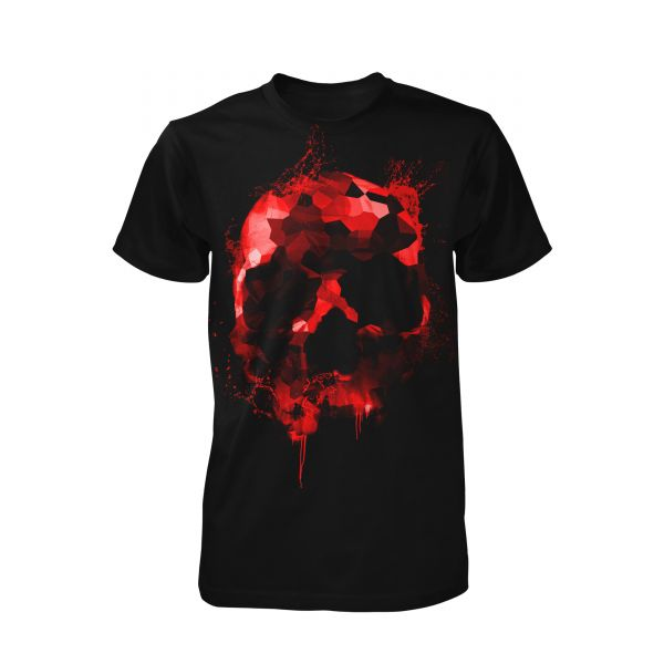 Art Worx Red Skull Splash