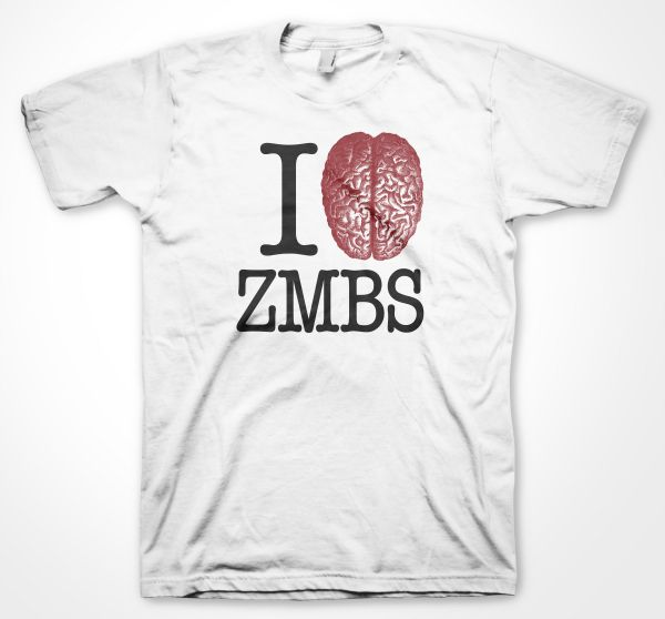 Rock Style I love ZMBS Zombies