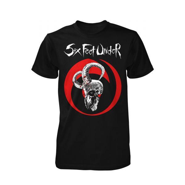 Six Feet Under Goatskull | T-Shirt