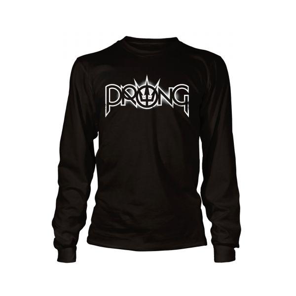 Prong White Logo | Longsleeve
